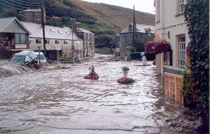 Boscastle, Cornwall, has been repeatedly flooded in recent years.